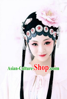 Ancient China Beijing Opera Style Wig and Accessories