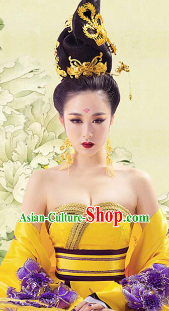 Ancient China Empress Wig and Hair Accessories