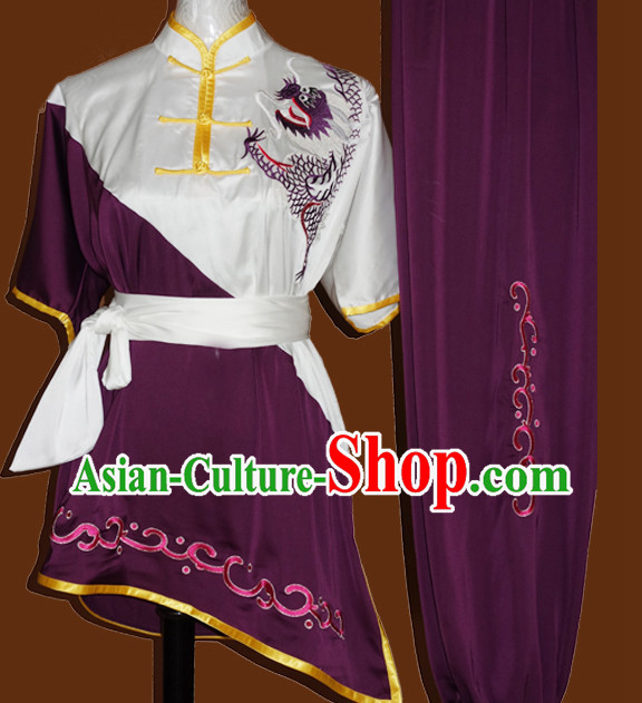 Top Embroidery Martial Arts Training Clothes Complete Set