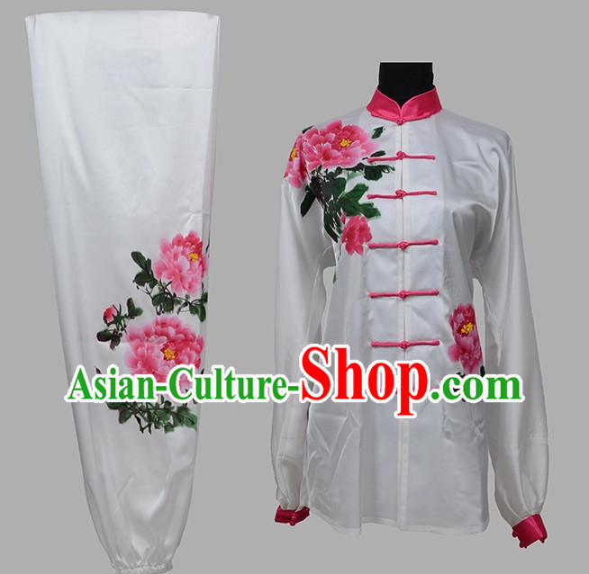 White Top Martial Arts Competition Clothing Complete Set