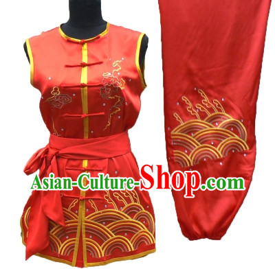 Professional Sleeveless Martial Arts Kung Fu Uniform for Men