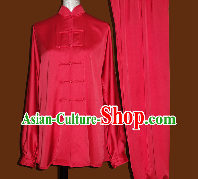 China Red Tai Chi Chuan Tai Chi Pants Tai Chi Outfit