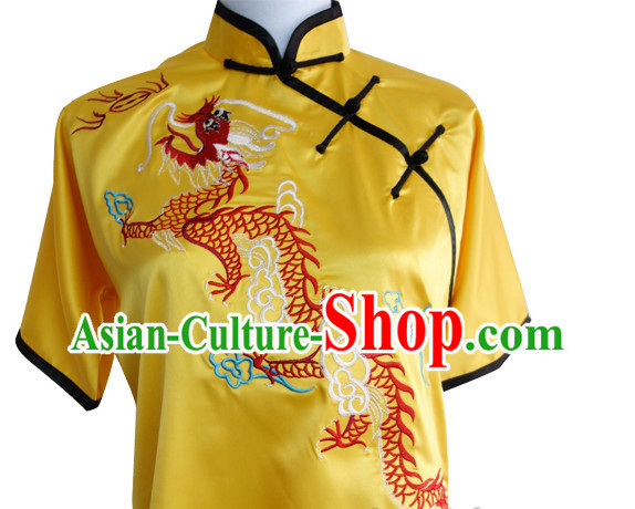 Top Henan Province Shaolin Kung Fu Kung Fu Training Learn Shaolin Blouse and Pants