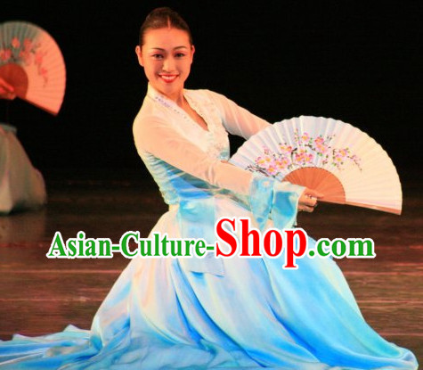 Korean Hanbok Fan Dance Costumes Clothes Korean Clothing online