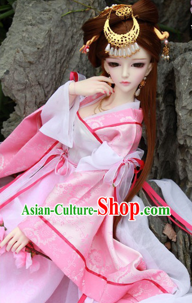 China Pink Princess Costumes Carnival Costumes Dance Costumes Traditional Costumes