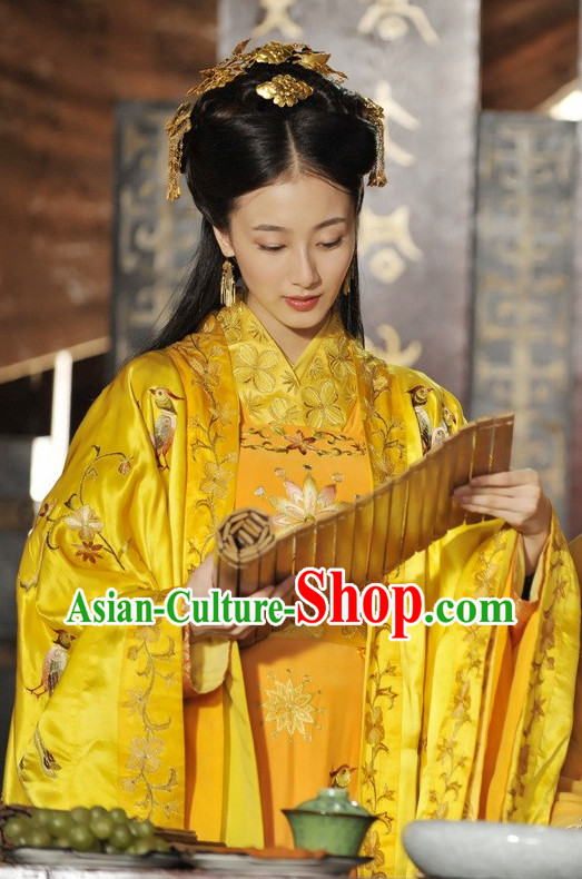 Chinese Empress Costumes Carnival Costumes Dance Costumes Traditional Costumes for Women