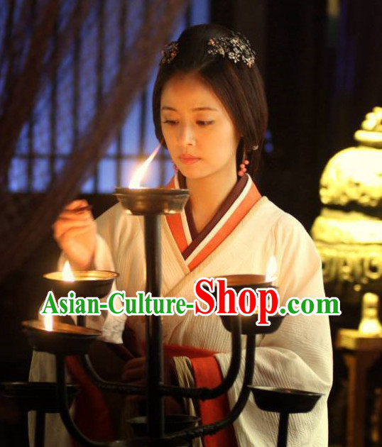 Chinese Classic Hanfu Costumes Carnival Costumes Dance Costumes Traditional Costumes for Women