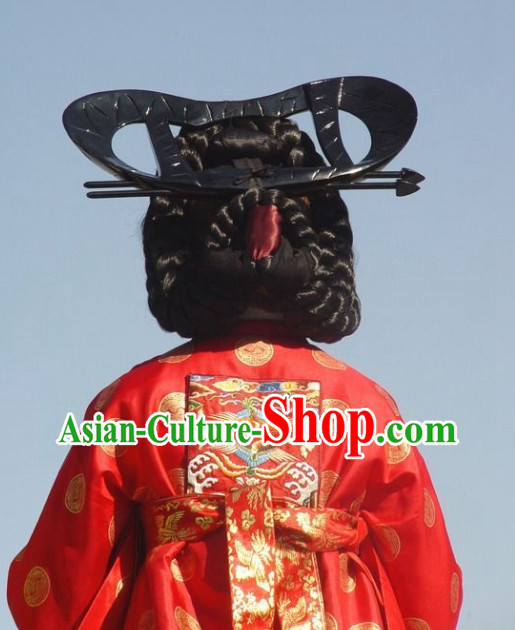 Korean Palace Empress Black Wig