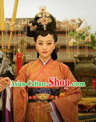 China Classical Handmade Empress Hair Jewellery Set