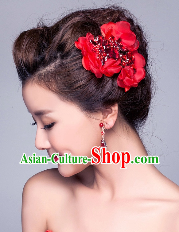 Top Chinese Bridal Hair Fascinators Jewellery Accessories Wedding Headpieces