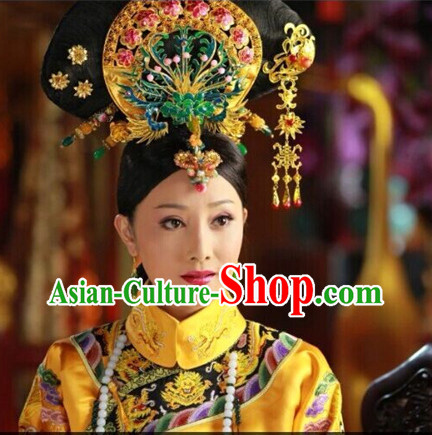 Supreme Chinese Empress Phoenix Jewellery Accessories Wedding Headpieces Set