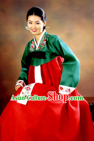 Korean Traditional Dress Asian Fashion Ladies Fashion