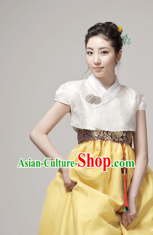 Modernized Female Hanbok for Wedding Birthday Ceremony Prom Ball Reception Gaduation Banquet