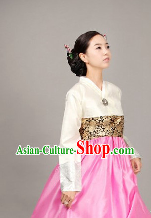 Modernized Female Hanbok for Wedding Birthday Prom Ball Reception Gaduation Banquet Halloween