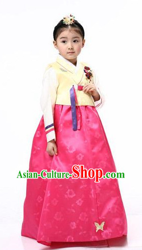 Traditional Korean Clothing Custom Made baby Hanbok for Birthday Party Halloween