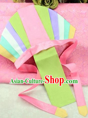 Korean Traditional Kids Birthday Ceremony Hat