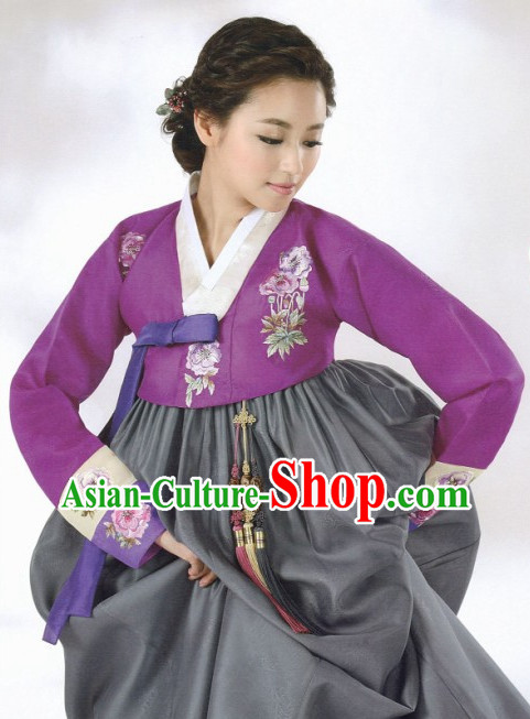 Korean Traditional Hanbok Dress Ceremonial Clothing Korean Fashion Shopping online for Women