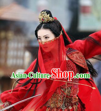 Chinese Ancient Mysterious Princess Hair Accessory