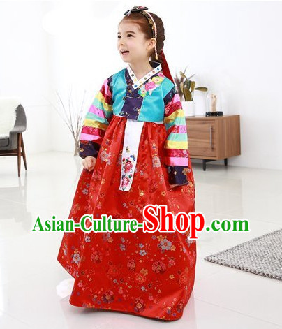 Korean Hanbok Clothing online for Girls