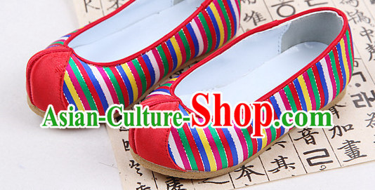Traditional Korean Birthday Ceremony Hanbok Shoes online for Kids