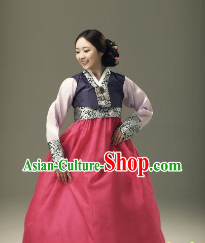 Top Korean National Costumes Ladies Fashion Halloween Costumes Traditional Korean Clothing