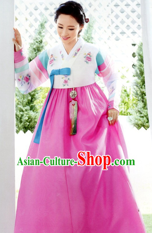 Top Korean National Costumes Ladies Fashion Traditional Korean Clothing