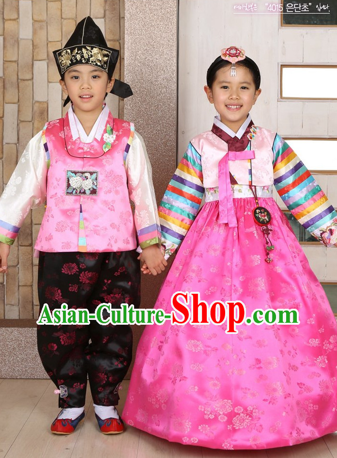 Top Traditional Korean Kids Fashion Kids Apparel Birthday Baby Clothes Boys Clothes 2 Sets
