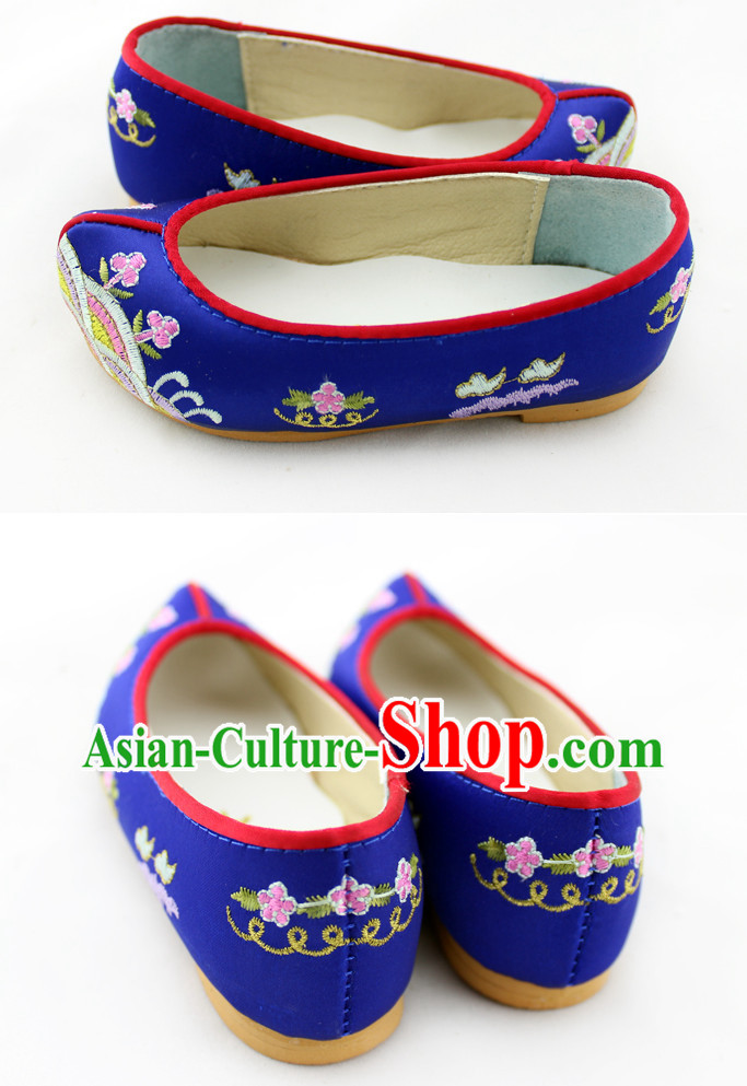 Korean Traditional Birthday Hanbok Shoes for Children