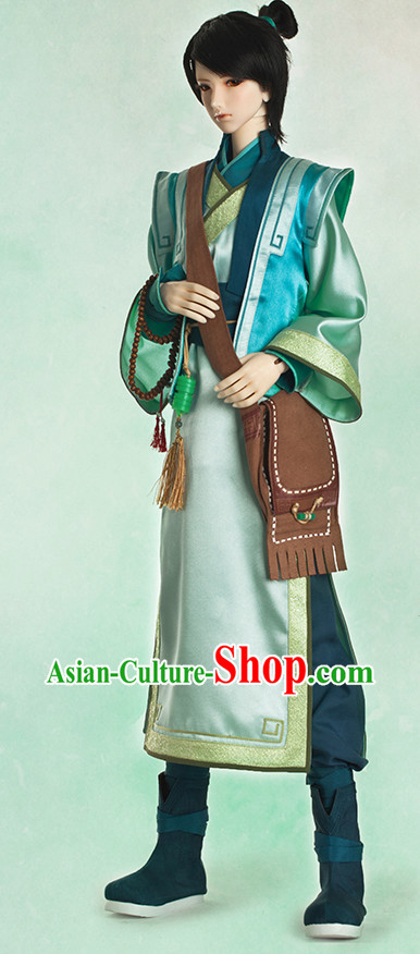 Ancient Chinese Student Costumes for Men Asian Halloween Ideas