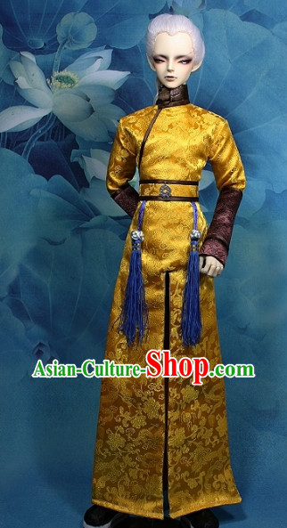 Asian Halloween Costume Costumes Dragon Robe for Chinese Emperor