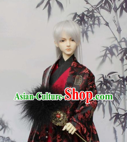 Chinese Male Cavalier Costumes China Fashion Halloween Asia Fashion