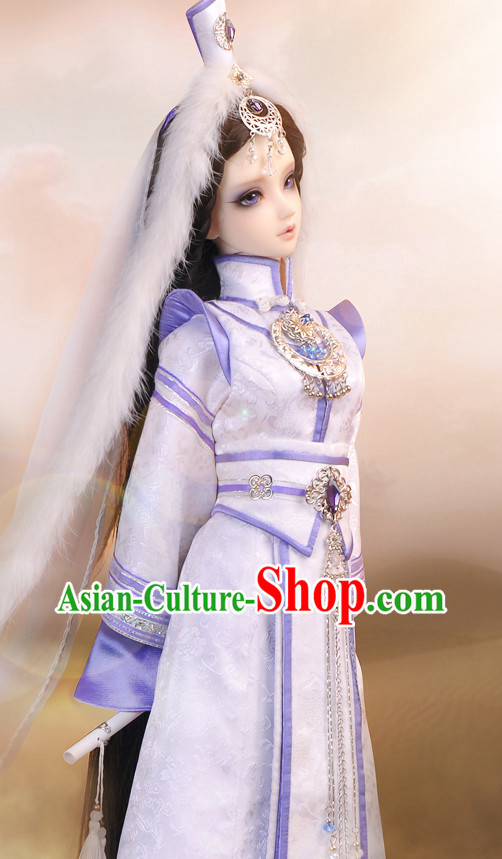 China Princess Costumes and Hair Ornaments for Adults Top China Fashion Halloween Asia Fashion