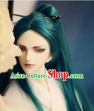 Chinese Traditional Wigs Updo Wigs Lace Front Wigs Geisha Wig Chinese Wig