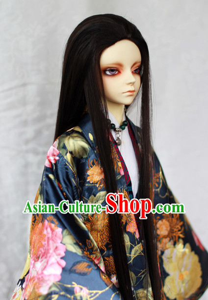 Chinese Traditional Long Wigs Updo Wigs Lace Front Wigs Geisha Wig Chinese Wig