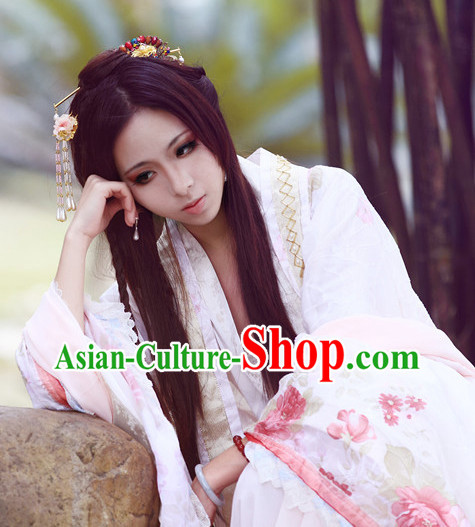 Ancient China Chinese Princess Costumes Asia Fashion Halloween