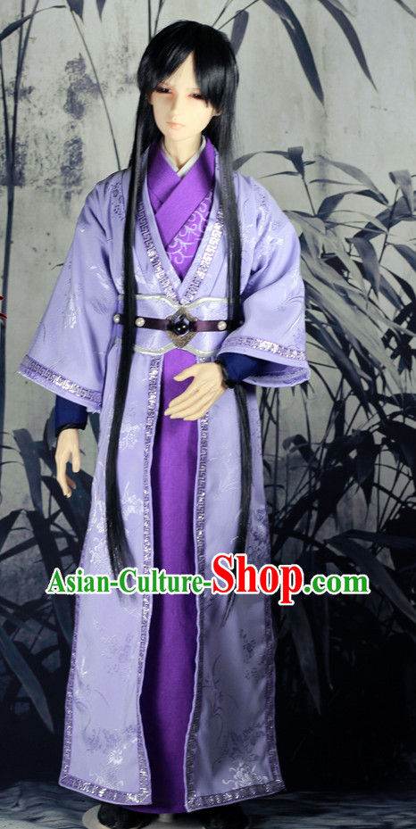 Asian Fashion Chinese Hanfu Dress for Men