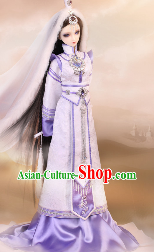 Asian Fashion Chinese Mysterious Princess Halloween Costumes for Adults