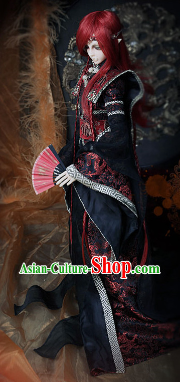 Asian Fashion Chinese Custom Made Hanfu Dress for Men