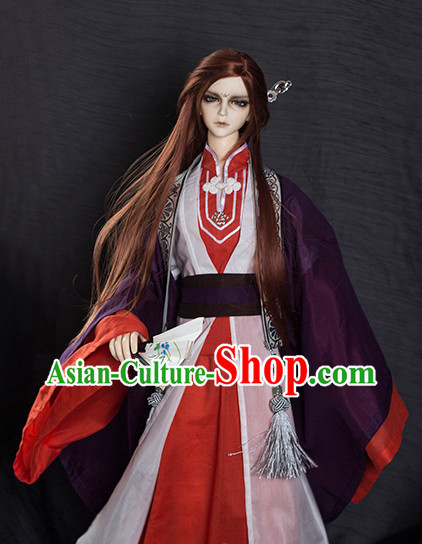 Asian Fashion Chinese Traditional Costumes for Men