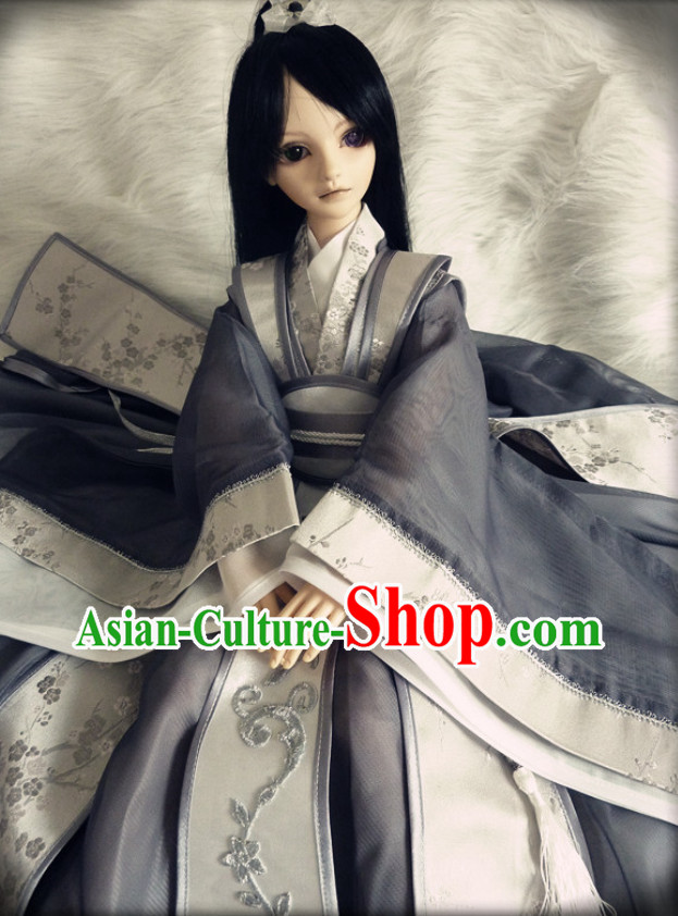 Asian Fashion Chinese Long Gown for Men