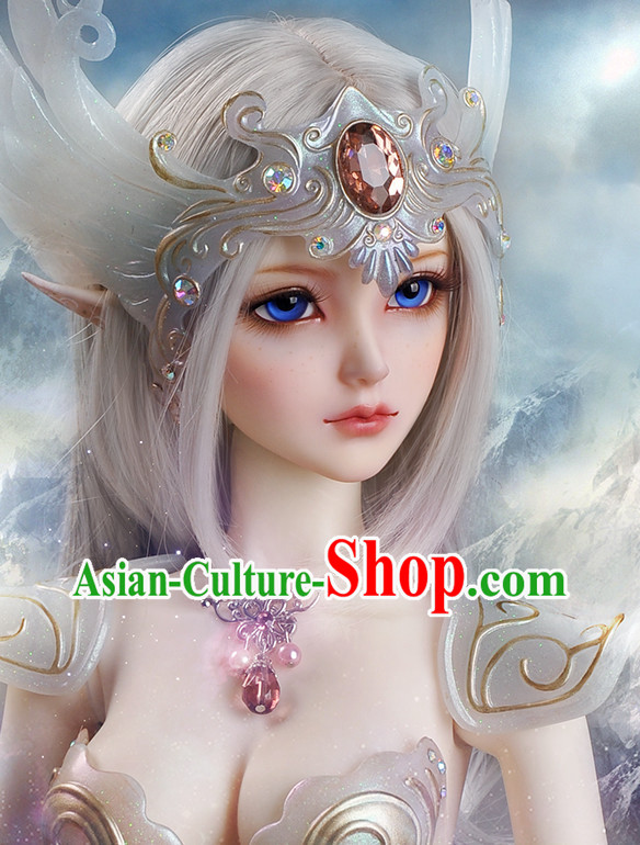Chinese Cosplay Costumes and Headwear for Fairies