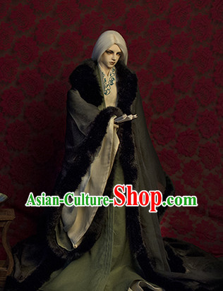 Asian Fashion Traditional Halloween Hanfu Prince Costumes for Men