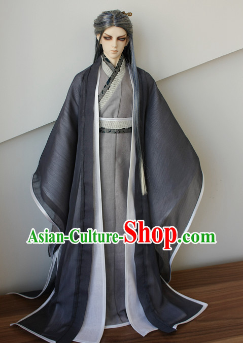 Asian Fashion Traditional Chinese National Suit for Adults