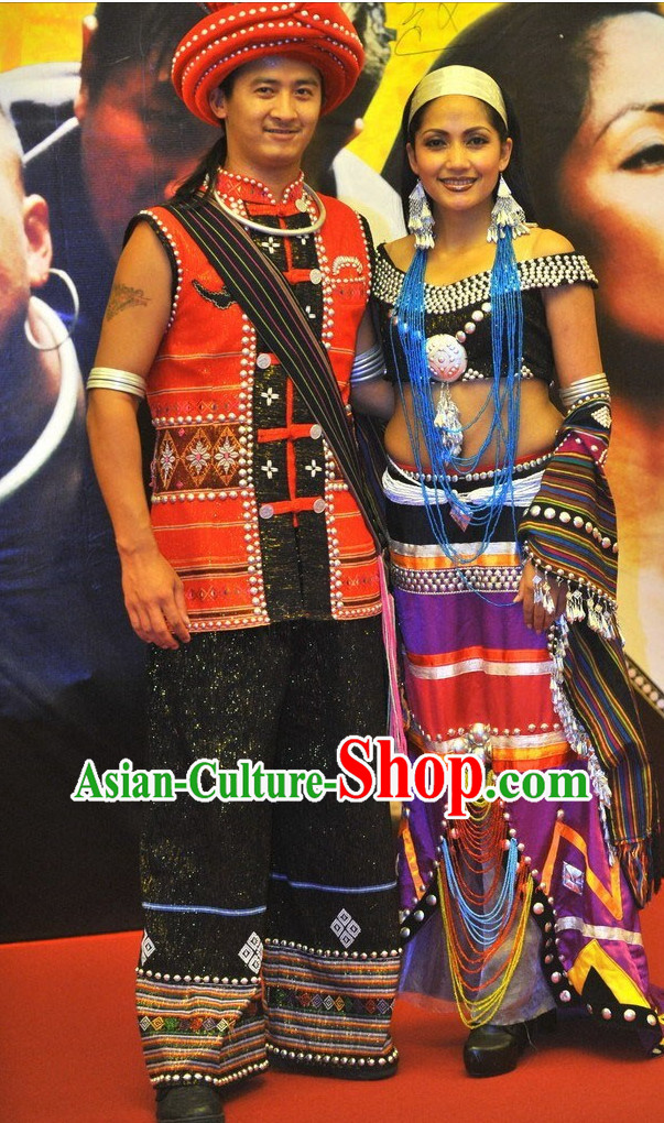 Chinese Ethnic Dance Costumes China Shop Wholesale Clothing 2 Sets