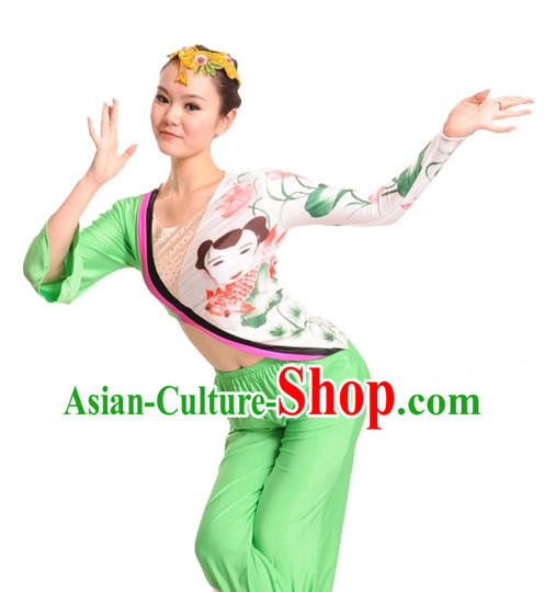 China Shop Chinese Classical Dance Costumes Girls Dancewear for Women