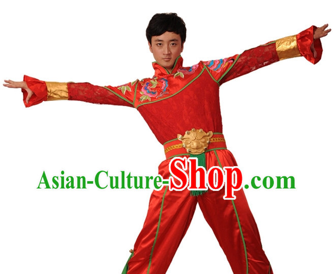 China Shop Chinese Classical Dance Costumes Ballerina Costume Men Dancewear