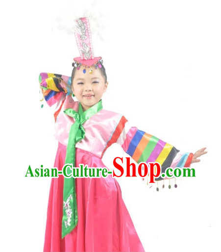 China Shop Chinese Korean Ethnicl Dance Costumes Ballerina Costume Kids Dancewear