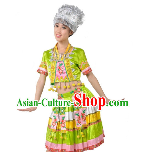 China Shop Chinese Miao Dance Costumes Ballerina Costume Mens Dancewear