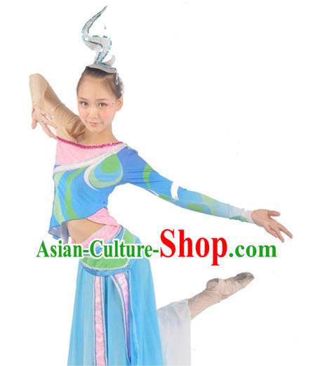 Custom Made Chinese Dance Costumes Ballerina Costume Burlesque Costumes Salsa Costumes