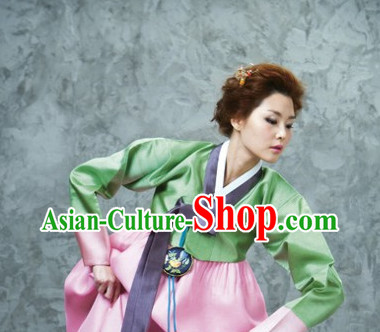Korean Formal Dresses Costumes Hanboks Complete Set for Women